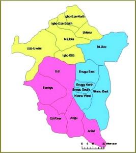 LGAs in Enugu State
