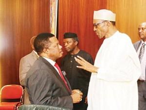 State House Photo: Buhari & Obiano in July