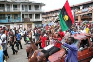 Pro-Biafra protests in Port Harcourt
