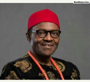 buhari-in-igbo-dress