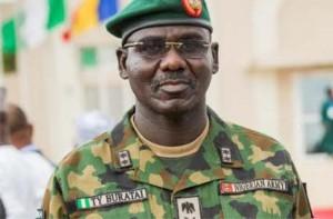 Chief of Army Staff Lt. General Tukur Buratai