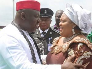 Okorocha and his wife Nneoma