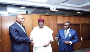 Senate President receives the ministerial list