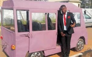 The Unizik mini-bus