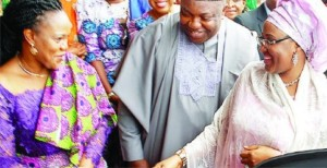 Wife of the President in Enugu