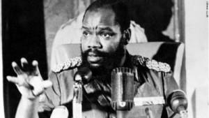 Ojukwu as Biafran Head of State