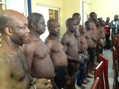 Biafra Zonist Movement members facing arraignment in court