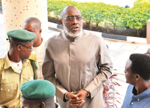 Metuh in  handcuff