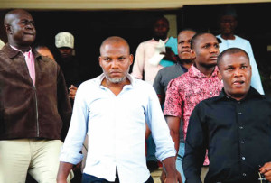 Kanu in Abuja court on Wednesday
