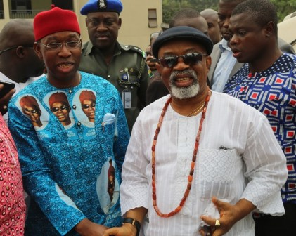 Ngige and Governor Okowa of Delta State