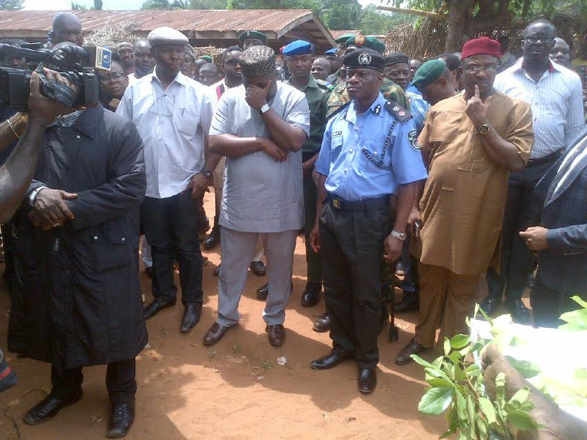 Ugwuanyi weeps over Fulani herdsmen killings Nimbo