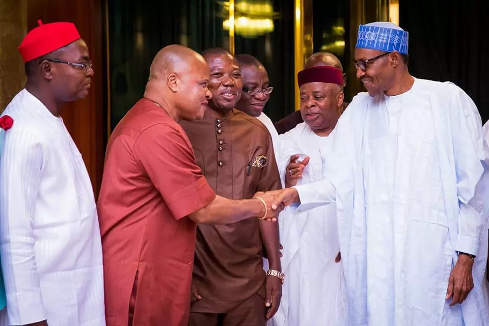 igbo_leaders_meet_buhari
